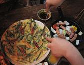 美食 별미:酒店的煎餅和香腸파전 소시지