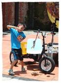 2014 小小胖&小妞妞趴趴走 II:陳建智藝術家的三輪車