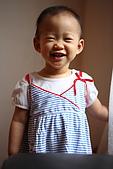 球球一歲四個月:哈哈哈