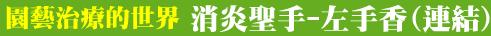 園藝治療的世界-0002左手香.png - ◆園藝治療世界-結業