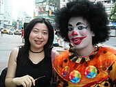 我的好朋友們:Funny clown and Grace