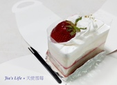 生活隨手拍 Jia's Life photos:【小確幸】85℃下午茶組~天使雪莓(特寫)