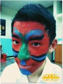 校園二哥 八年級:【表藝課】臉譜彩繪