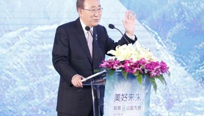 「潘基文稱讚杭州」9月召開的G20表示祝賀