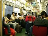 20070617-0621東京初體驗:0621-坐電車到成田機場