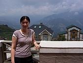清境農場二日遊:房間陽台