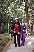 阿里山三日遊:神木區步道─媽媽及姑姑