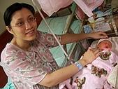 楷航誕生:母子合照