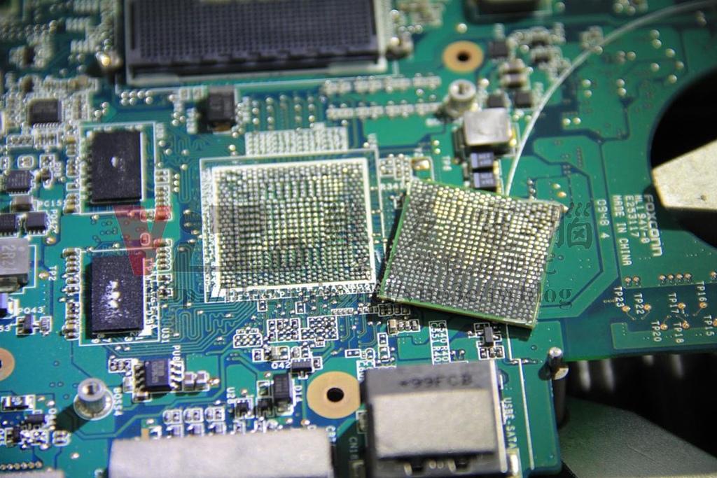 Dell P03G Studio 1450 1457 1458 開機沒畫面:DELL Studio 1458 (P03G) ATI顯示卡維修