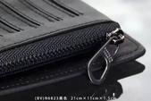 BV 宝缇嘉 🔹男女、皮夾/手提包🔹  2016 新款式 精品新潮流~:BV (N 6823)黑.藍 皮夾 .jpg