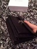 YSL   爆款圣罗兰 专柜同步出货 🐊皮黑红两色现货:mmexport1449715391706.jpg
