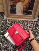 YSL   爆款圣罗兰 专柜同步出货 🐊皮黑红两色现货:mmexport1449715377168.jpg