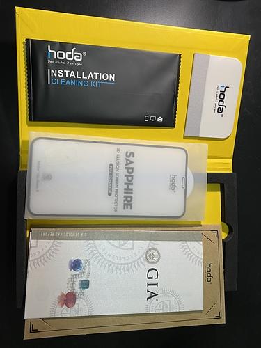 [開箱]Iphone 11 pro試用hoda 藍寶石幻影 3D 隱形滿版螢幕保護貼 & Mous 英國防摔手機殼 - 11
