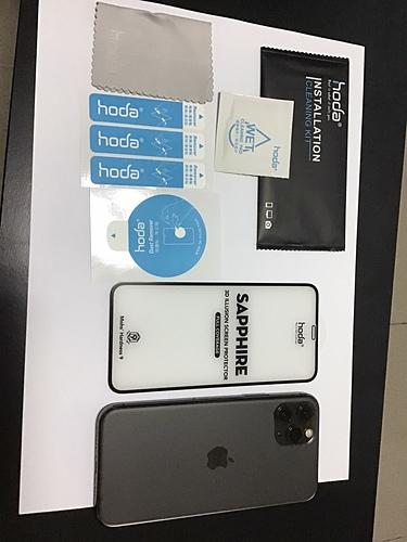[開箱]Iphone 11 pro試用hoda 藍寶石幻影 3D 隱形滿版螢幕保護貼 & Mous 英國防摔手機殼 - 31