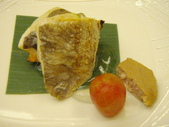 2009-03-04 鮨清田壽司:疣鯛,滷鮪魚,醃番茄