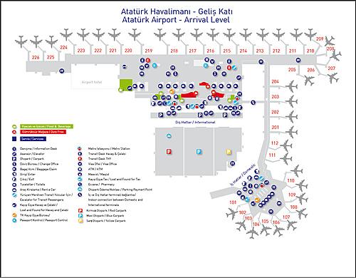 stanbul International Ataturk Airport MAP Xuite