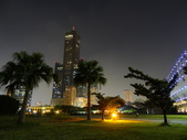 夜景 新光碼頭 85大樓:85大樓