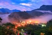 環山之美-茂林(多納部落):雲霧環繞山谷