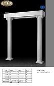 、羅馬柱、:造型羅馬柱/直線型